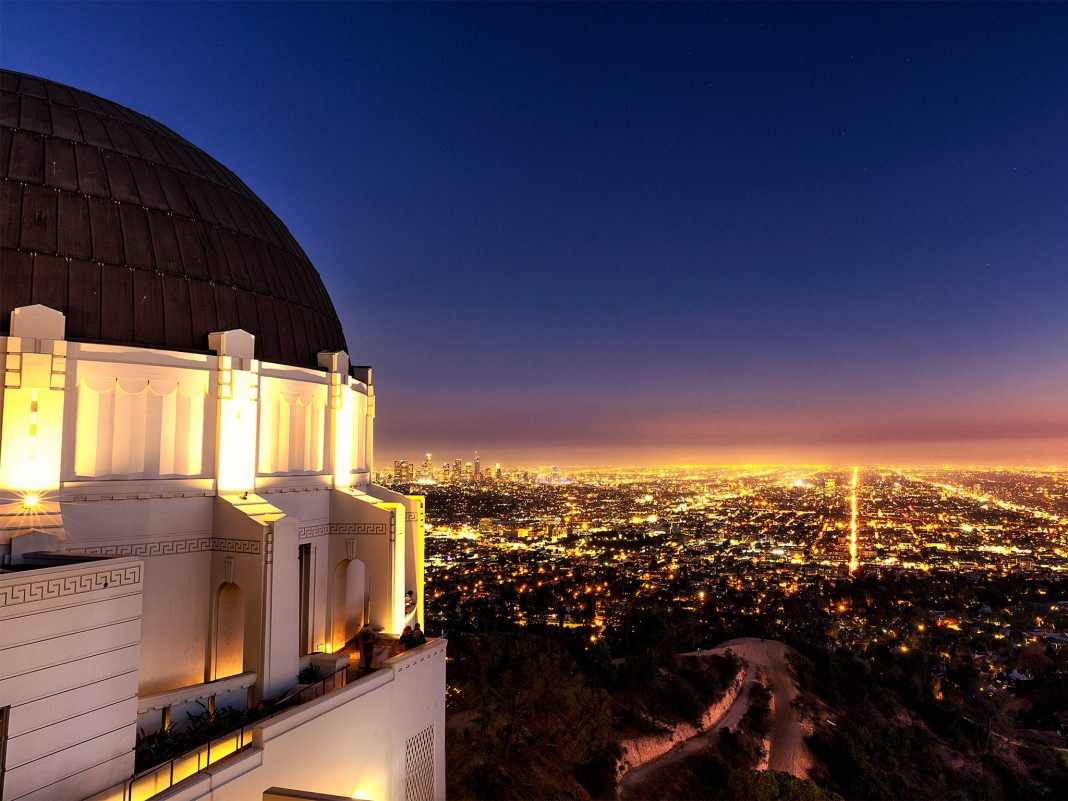 photogenic los angeles griffith observatory
