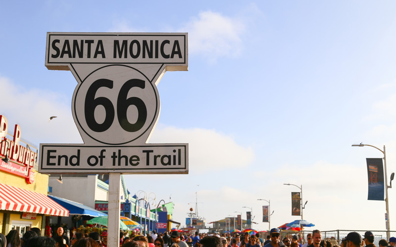 Know Your City Where Does Route 66 Actually End Los