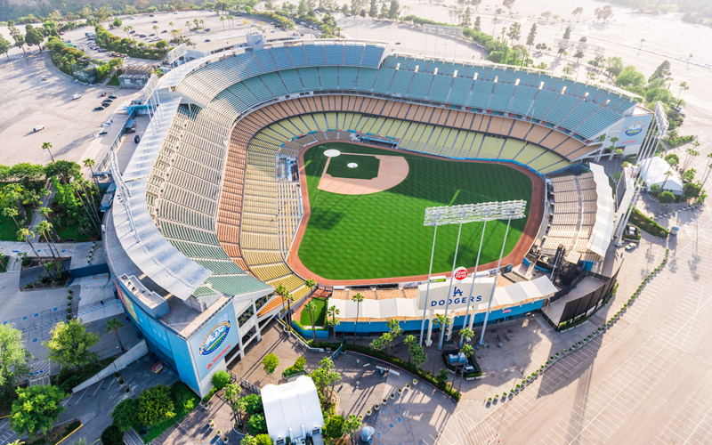 This Map of Bars Near Dodger Stadium Is Here for You in Your Time of Dodger Stadium Parking Lot Map on