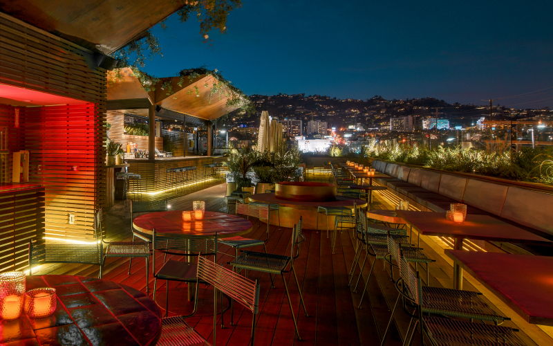 The 9 Best Rooftop Bars in L A  Los Angeles Magazine