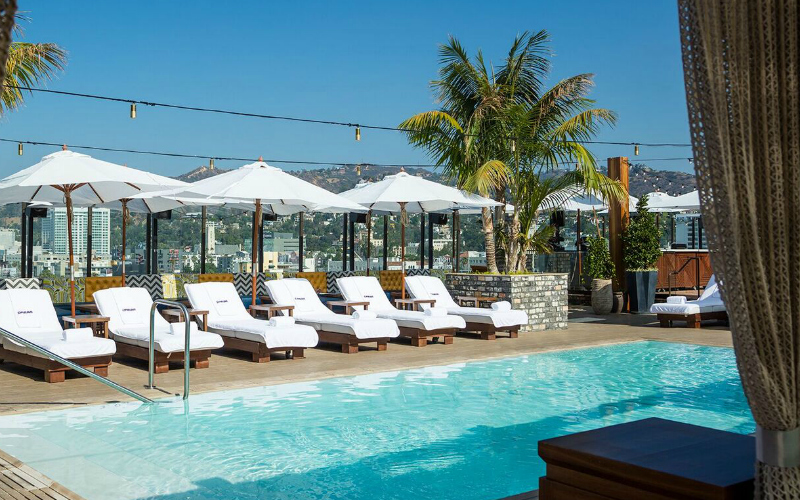 Gorgeous Hotel Pools in L.A. Where You Can Cool Off Without ...