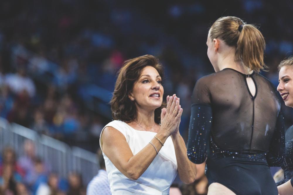 How a Ballet Dancer Reinvented UCLA Gymnastics, Survived