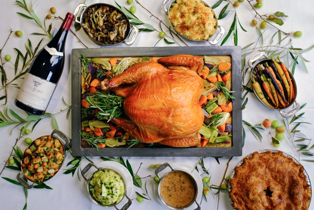 baltaire thanksgiving takeout