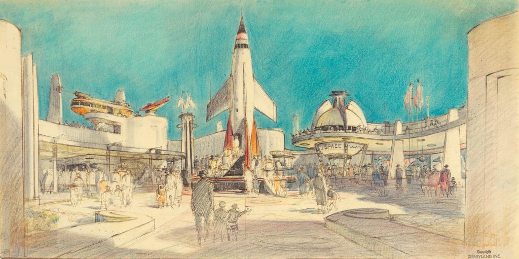 When Disney Was A Mid Century Modern Icon Los Angeles Magazine