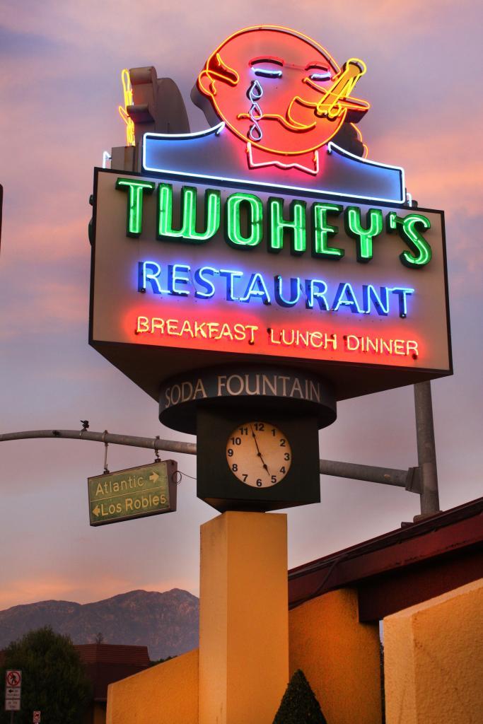 Photograph courtesy of Twohey's Restaurant