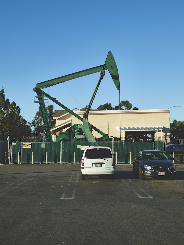 Above the Surface and Below, L A  Is Still an Oil Town