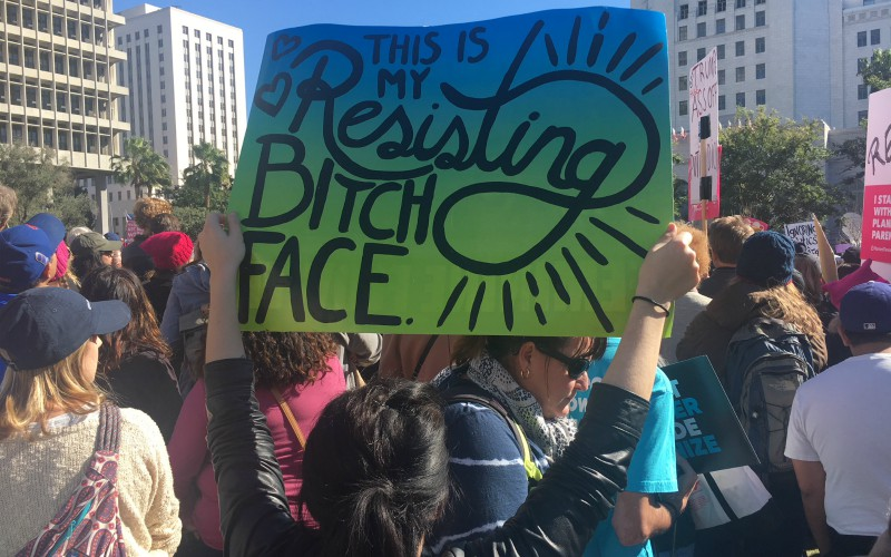 Our Favorite Signs and Slogans From the 2018 Women's March in L A