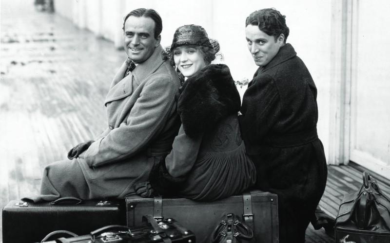 Image result for chaplin pickford fairbanks chicago 1918