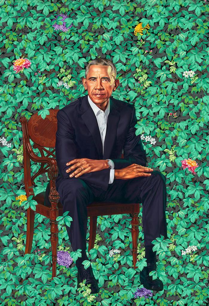 obama portrait tour