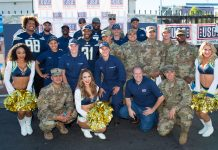 los angeles chargers nfl football charity