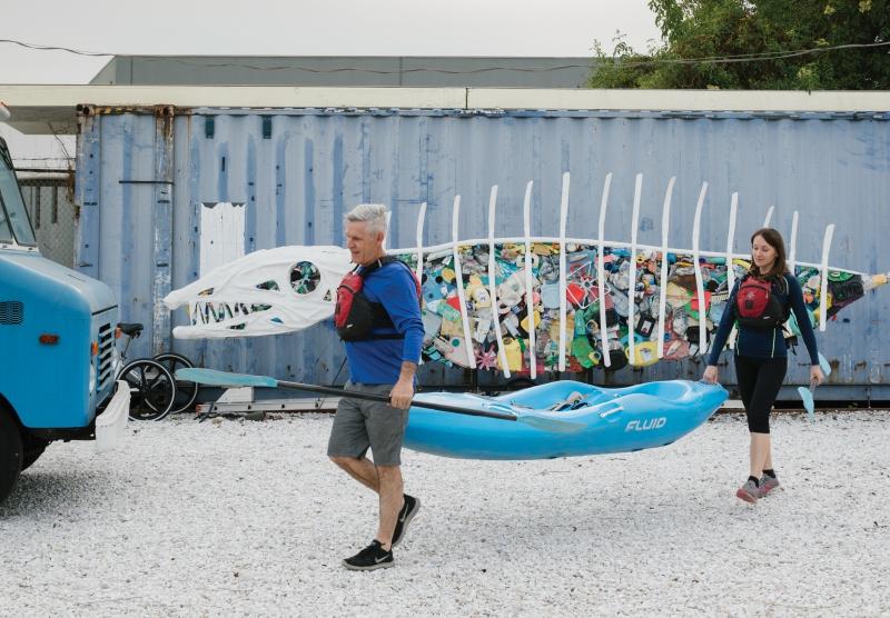 frogtown kayaking los angeles river kayaking