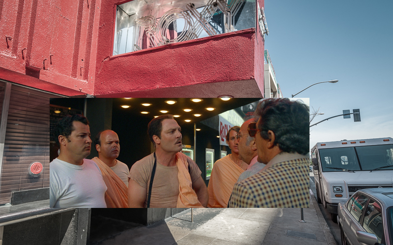 Revisiting the L A  Locations from Cheech and Chong's Up in