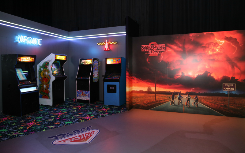 Palace Arcade Stranger Things Netflix Pop-Up