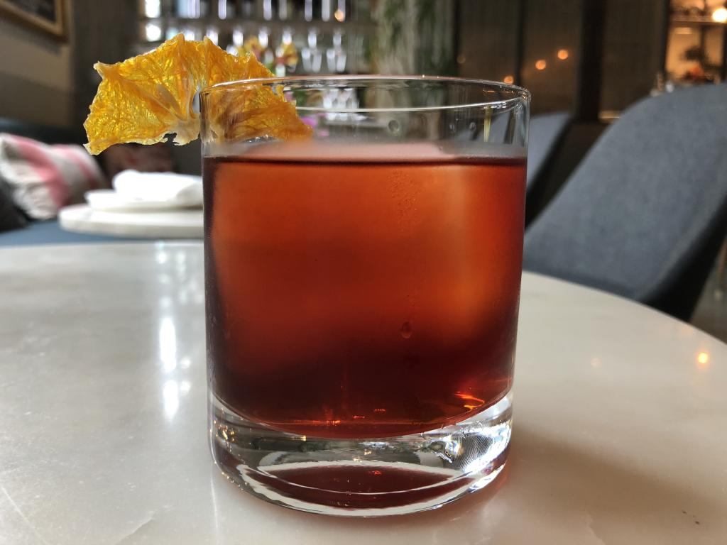 Coffee & Chili Negroni by Esters Wine Shop & Bar for Negroni Week