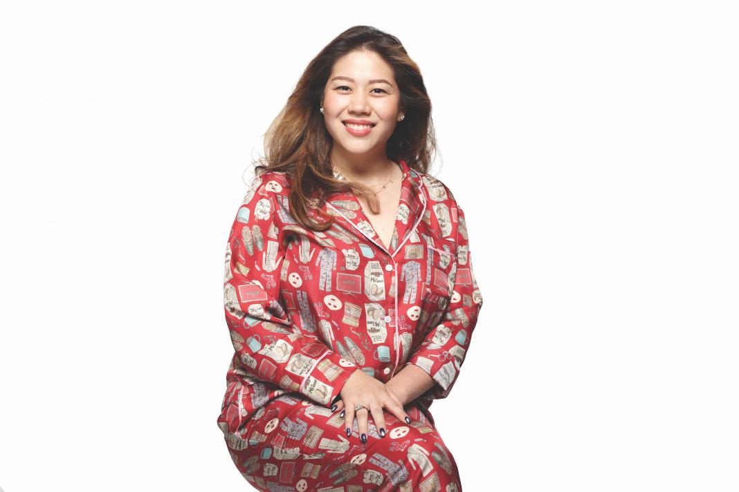 christina wang silk pajamas los angeles