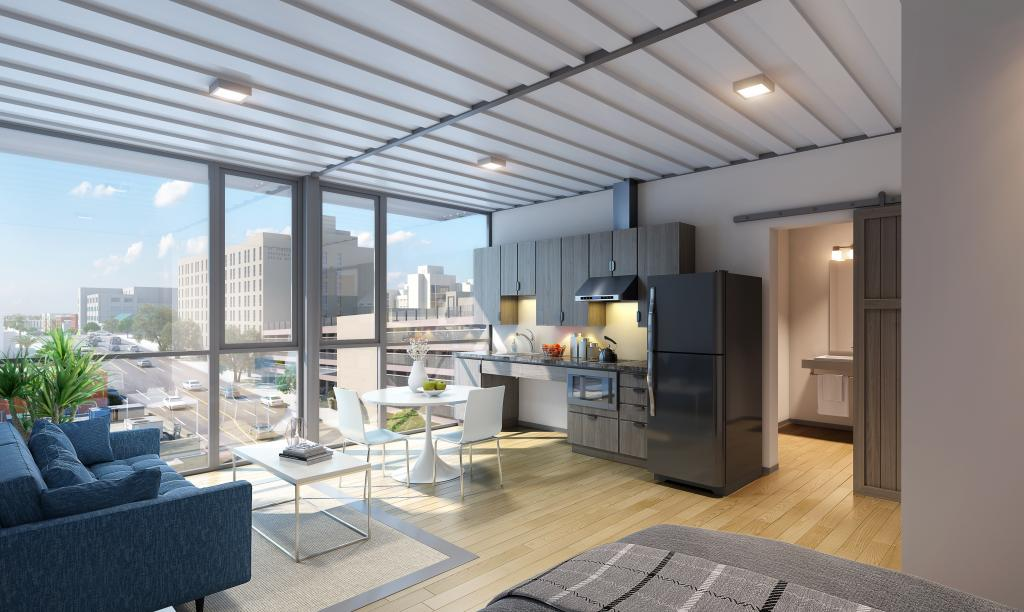 How Shipping Containers Become Housing for the Homeless in L A