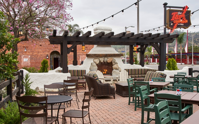 patio tam o'shanter open spring 2018 atwater village outdoor dining walt disney