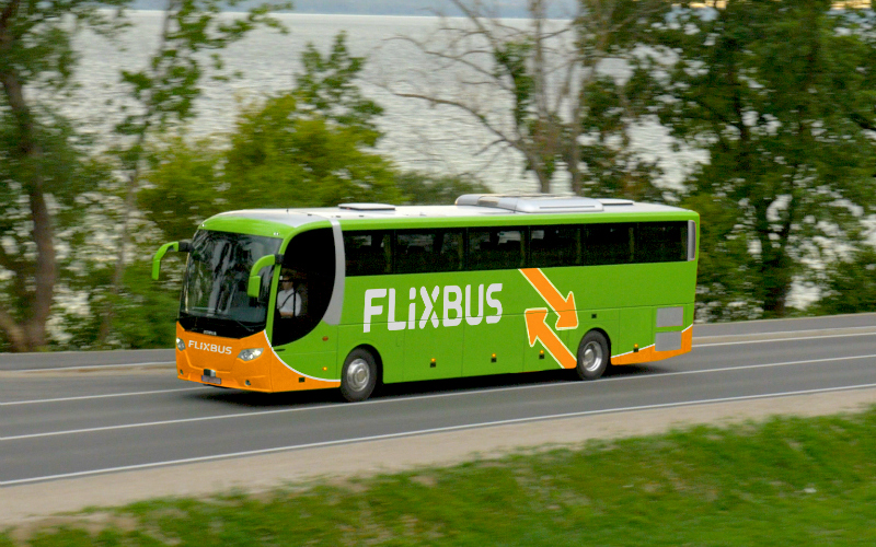 flixbus bus to vegas from la