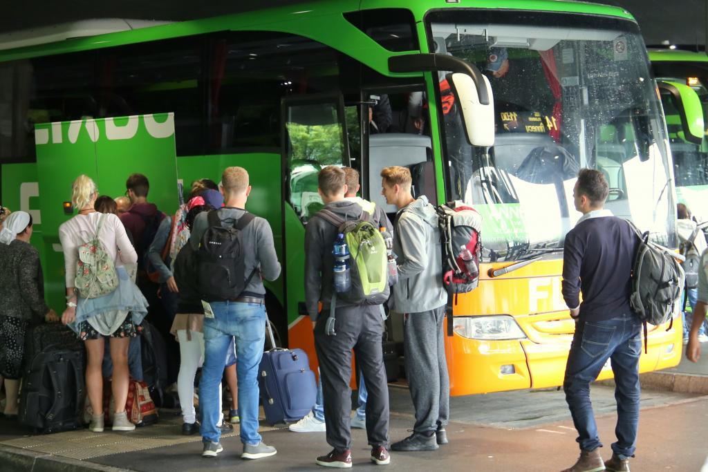FlixBus bus to Vegas from Los Angeles