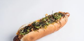 best hot dogs in los angeles weird toppings sumo dog seaweed godzilla koreatown