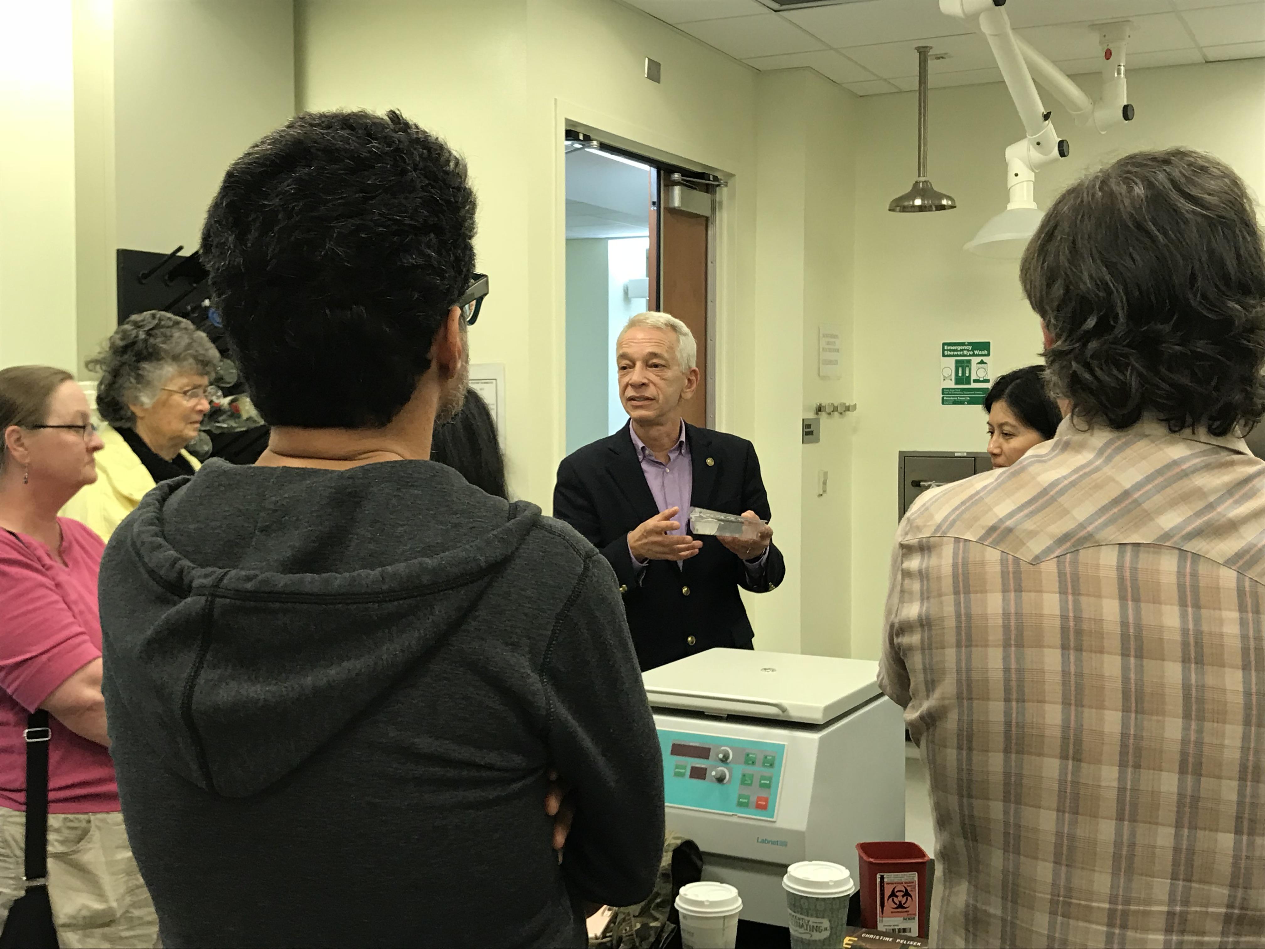 forensics lab cal state donald johnson