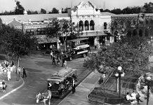 disneyland main street town square 1965