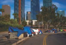 homelessness los angeles encampments downtown