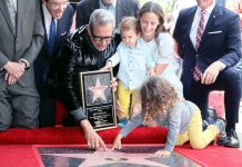 jeff goldblum father kids walk of fame star