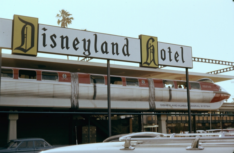 disneyland monorail vintage photos disneyland