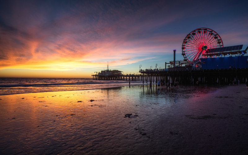 santa monica pier sunset things to do this week
