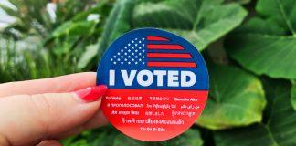 voter sticker election day deals campaign politics