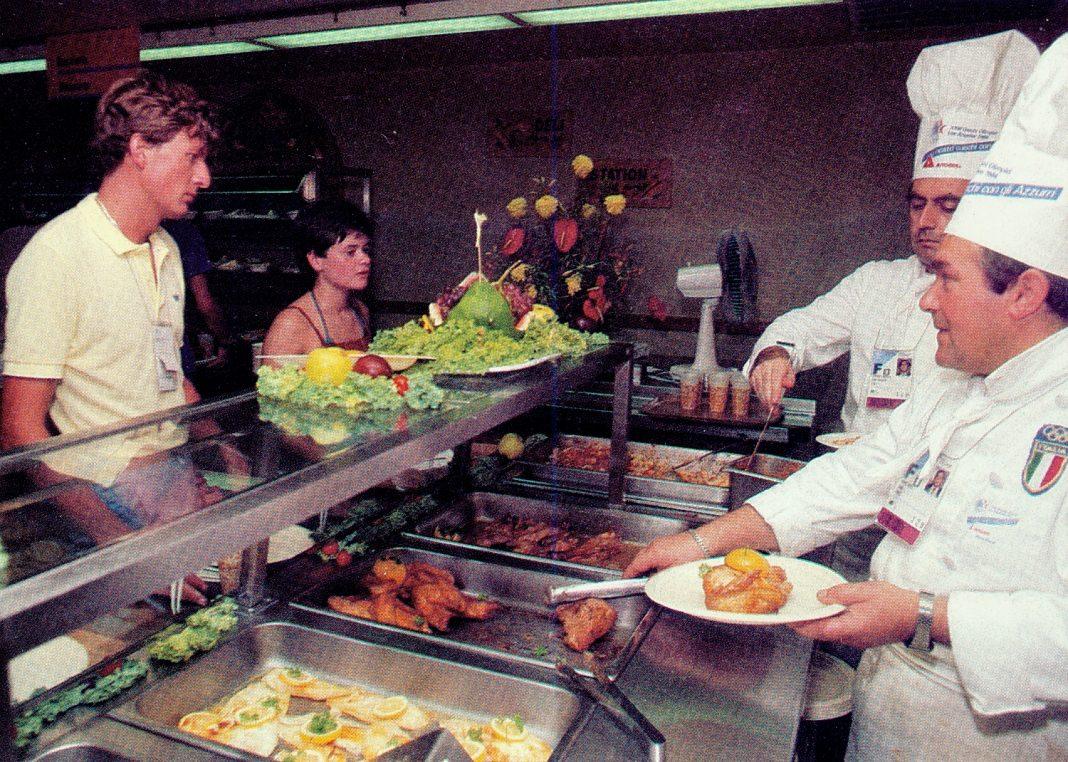 1984 olympics food
