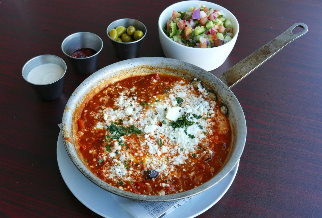 cafe florentine valley village shakshouka
