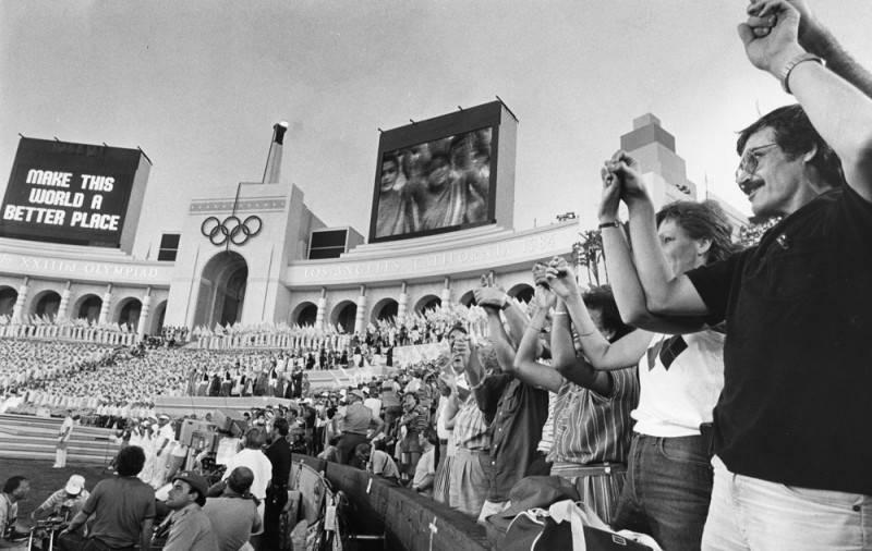 1984 olympics opening ceremonies