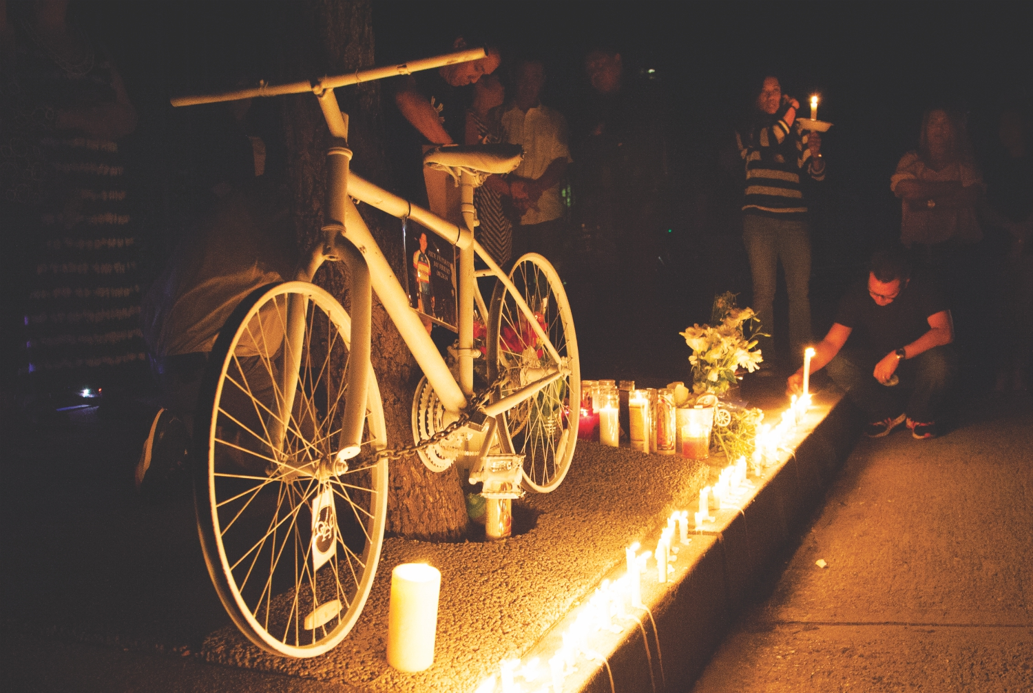 ghost bike memorial los angeles