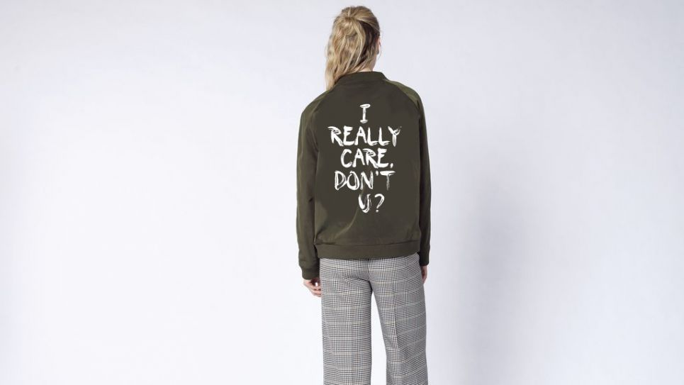 wildfang melania jacket los angeles pop-up