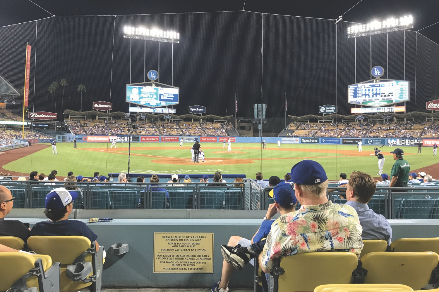 best seats at dodger stadium