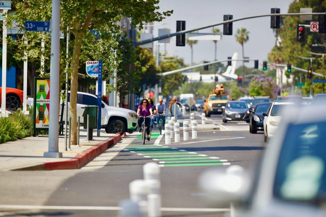 myfigureroa my figueroa bicycle lanes downtown los angeles