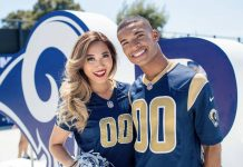 male cheerleaders nfl rams