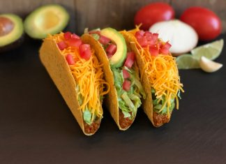 vegetarian del taco beyond meat
