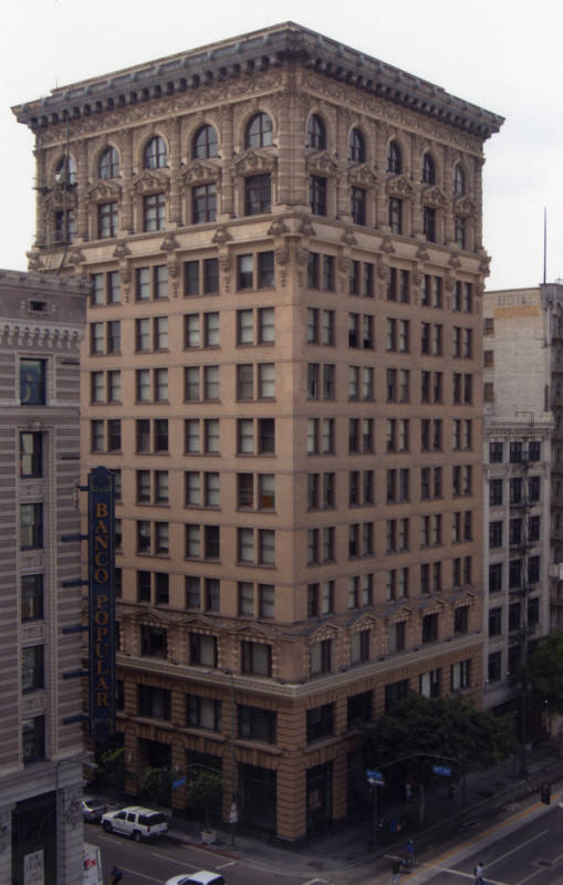 First Skyser In Los Angeles Continental Building Downtown