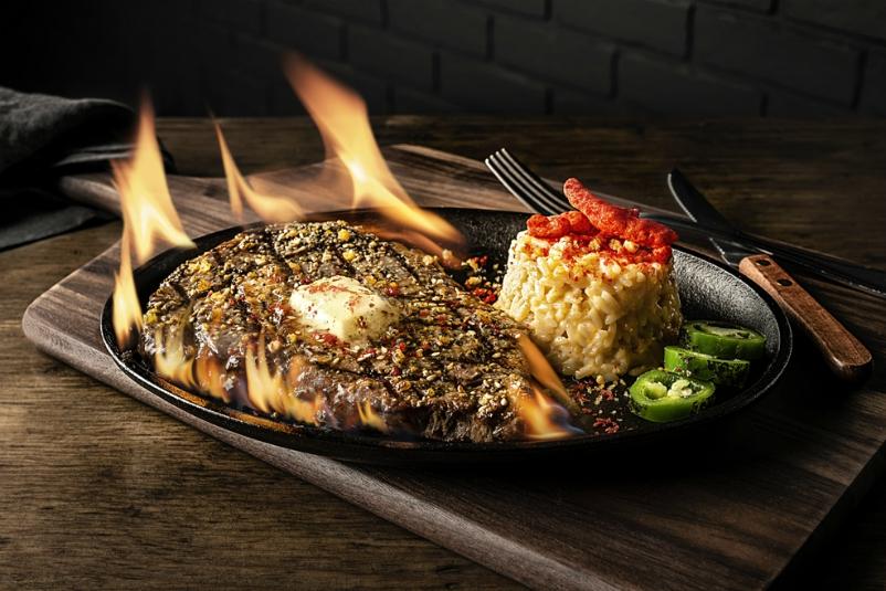 roy choi steak flamin' hot spot