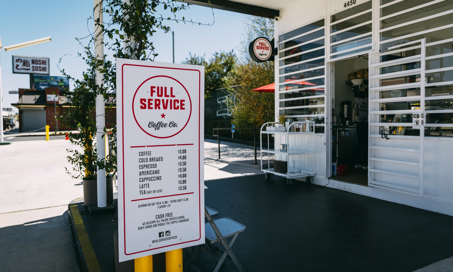 full service coffee co beverly boulevard