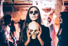 Halloween Events LA Skeleton Spooky Haunted House