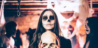 Halloween Events LA Skeleton Spooky Haunted House