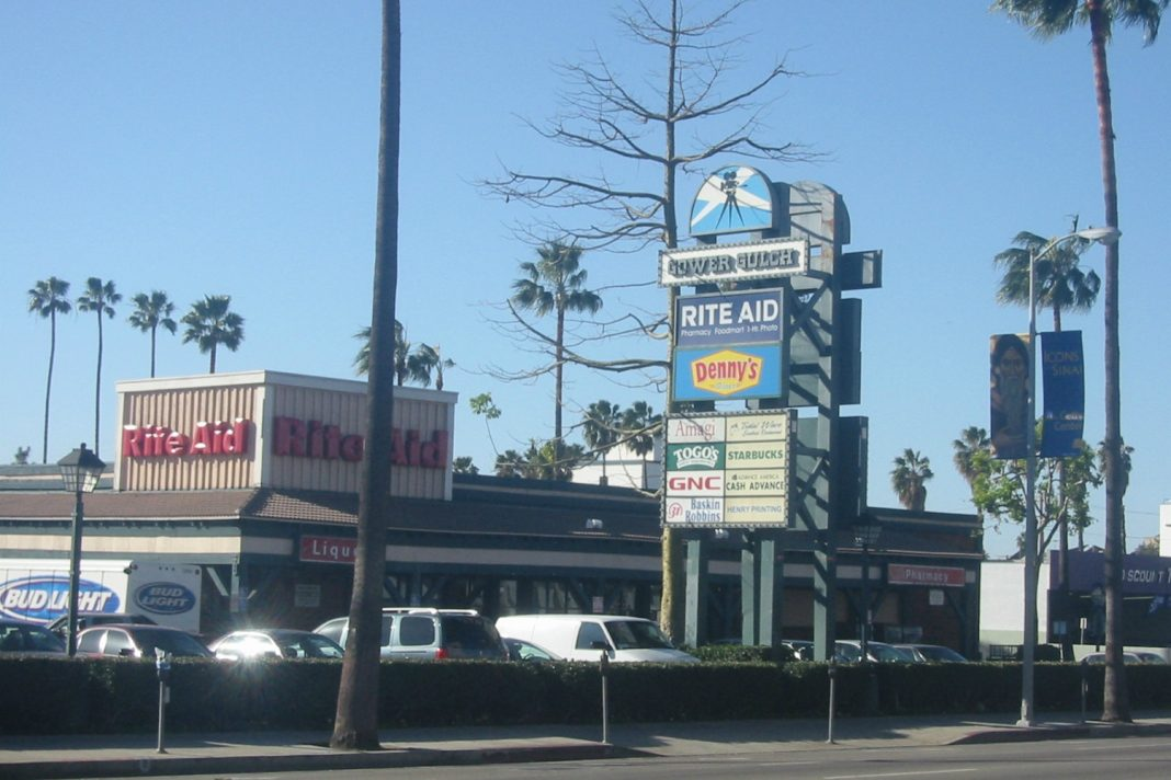 gower gulch shopping center los angeles strip mall