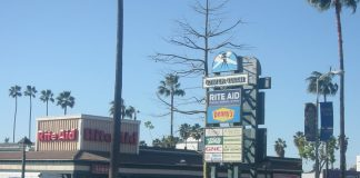gower gulch shopping center los angeles strip mall