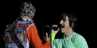 anthony kiedis flea red hot chili peppers