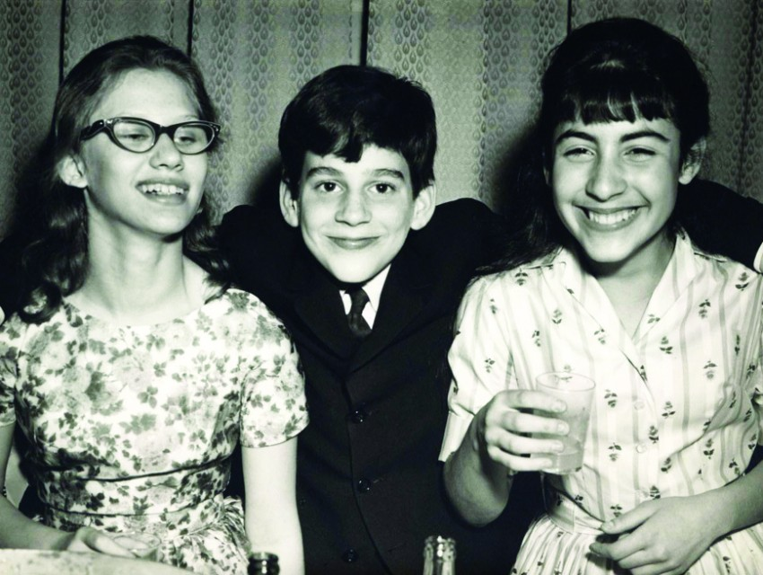 Wonder Years: Eisner at his Bar Mitzvah in 1961