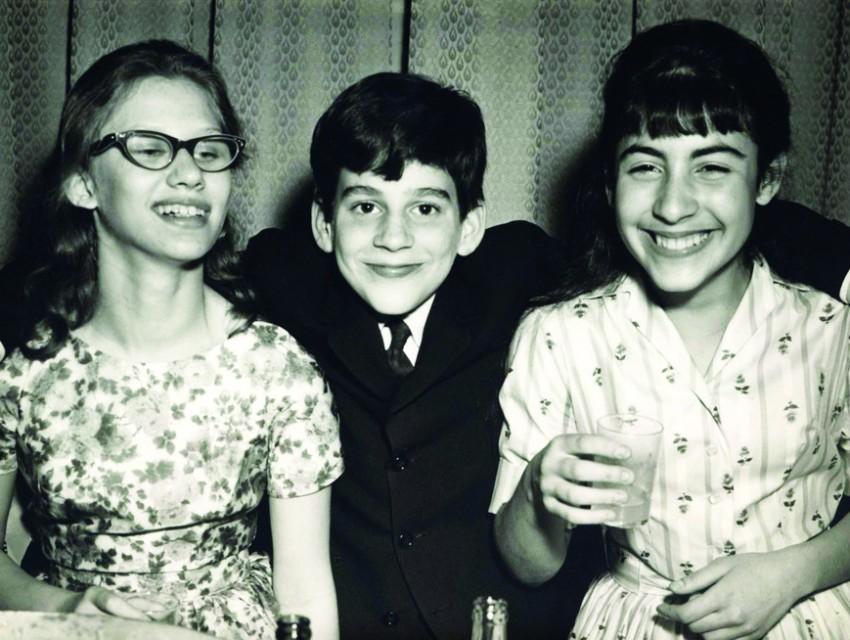 Wonder Years: Eisner at his Bar Mitzvah in 1961